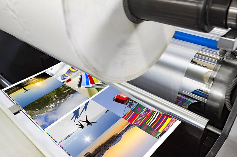roll foil laminator